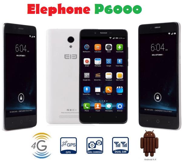 Elephone-p6000-poster