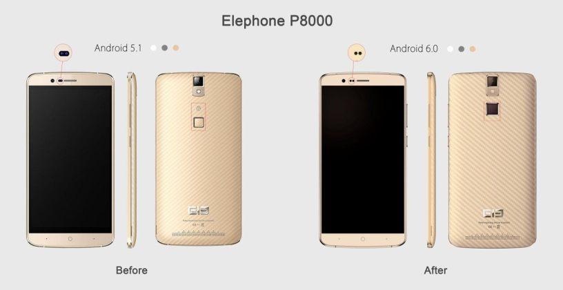 New-Elephone-P8000